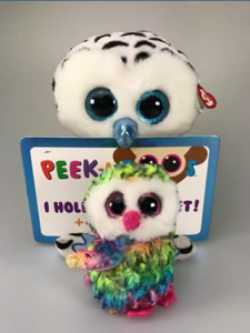 Ty beanie boo collectors – Win Omar Peek a Boo Tablet Holder & Owen Beanie (prize valued at $44.99)