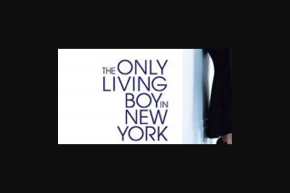 Visa Entertainment – Win a Double Pass to See The Only Living Boy In New York