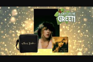 Warner Music – Win Double Passes to Stevie Nicks a Day on The Green Vinyl & Vinyl Bag