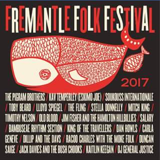 What's on in Perth – Win Double Pass to Fremantle Folk Festival 2017