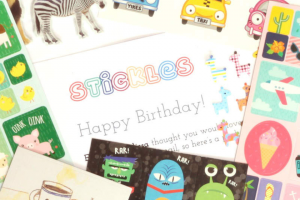Win a 3 Month Pack of Stickles for Your Child (prize valued at $30)