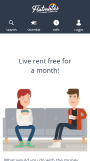 Win a Month Rent Free (prize valued at $24,000)
