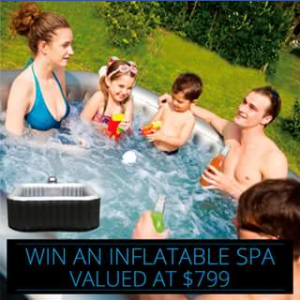 Spachoice – Win an Inflatable Spa (prize valued at $799)