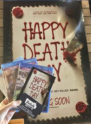 Yatala 3 Drive-in – Win a Car Pass & a Happy Death Day Pack