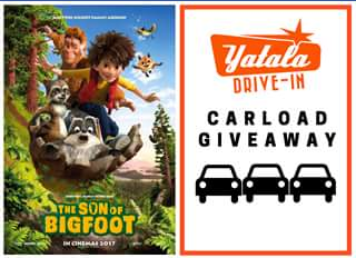 Yatala3 Drive-in – Win a Car Pass to Yatala Drive-In to See The Son of Bigfoot this Saturday Or Sunday