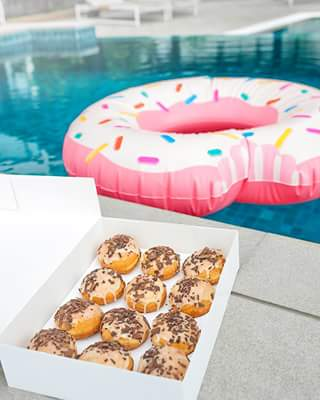 Youfoodz – Win a Whole Box of Protein Doughnuts a Doughnut Floatie
