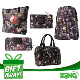 Zing pop culture – Win Nightmare Before Christmas Loungefly Loot