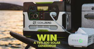 BCF – Win the Goal Zero Yeti 400 valued at $699