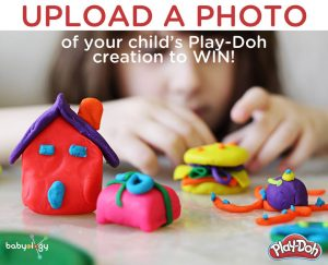 Babyology – Play-Doh Creations Photo – Win a fantastic Play-Doh prize pack valued at $204