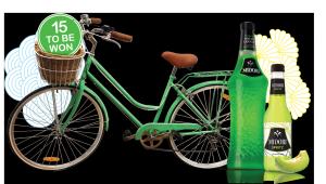 Bottlemart – Win 1 of 15 Midori Cruiser Bikes valued at $189