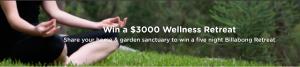 Flower Power – Win a 5-night Wellness Retreat for 2 at Billabong Retreats valued at $3,000