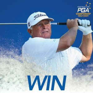 Inside Gold – Win a chance to play the Australian PGA Championship pro-am with golfing legend Peter Senior
