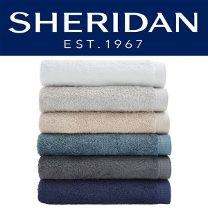 Manchester Factory – Win a Sheridan Neilson White Towel Set