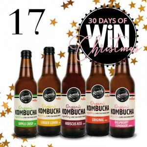 Mind Food – 30 Days Of Christmas – Day 17: Win 1 of 6 packs of Kombucha valued at $54 each