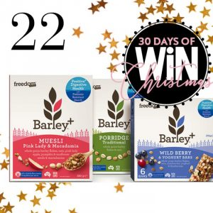 Mind Food – 30 Days Of Christmas – Day 22: Win 1 of 5 Barley + Reboot Kits valued at $80 each