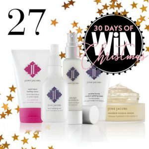 Mind Food – 30 Days Of Christmas – Day 27: Win a luxury skincare pack of June Jacobs valued at $360