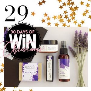 Mind Food – 30 Days Of Christmas – Day 29: Win 1 of 5 Fleurette Mini-Pamper sets valued at over $49 each