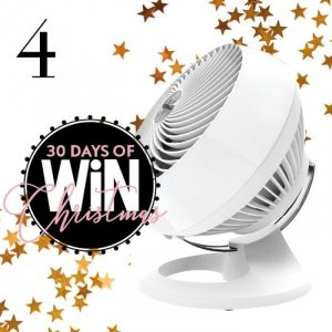 Mind Food – 30 Days of Christmas – Day 4: Win 1 of 2 Vornado 660 Air Circulator's valued at $229 each