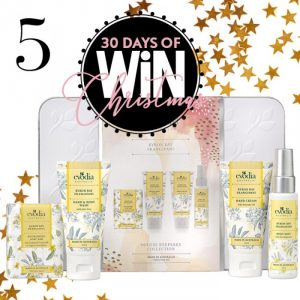 Mind Food – 30 Days of Christmas – Day 5: Win 1 of 10 Evodia Byron Bay Frangipani Deluxe Keepsake Collections valued at over $29 each