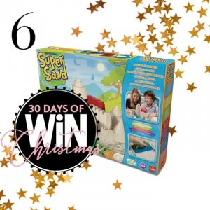 Mind Food – 30 Days of Christmas – Day 6: Win 1 of 8 Super Sand Castle sets valued at over $39 each