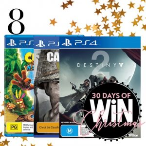 Mind Food – 30 Days of Christmas – Day 8: Win a Activision Gaming pack valued at over $269