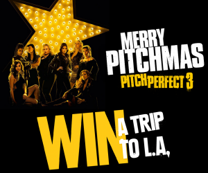 Mirvac Group – Merry Pitchmas – Win a trip for 4 to Los Angeles valued at $20,000 OR 1 of 100 Runners up prizes of a double pass to see Pitch Perfect 3