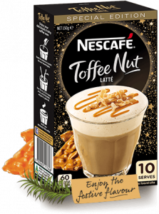 Nescafe – Toffee Nut Latte – Win 1 of 20 packs of New Limited Edition Nescafe Toffee Nut Latte