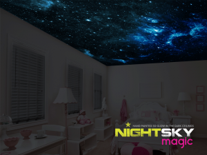 Night Sky Magic – Win a gift voucher for a Deluxe themed hand painted Nightsky Magic ceiling mural for Christmas valued at $420