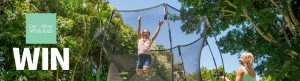 Out & About With Kids – Win a Springfree Trampoline prize package valued at up to $1,668