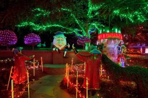 Out & About with Kids – Win 1 of 5 Family Passes to the Hunter Valley Gardens Christmas Lights Spectacular valued at $95 each