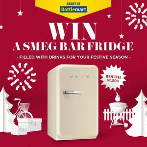 Pernod Recard Winemakers – LMG – Win 1 of 5 Smeg Bar Fridges and Drinks valued at $2,577 each