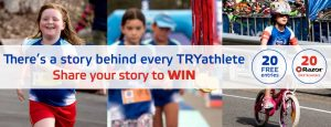Sanitarium – 2018 Weet-Bix Kids TRYathlon Australia – Win 1 of 20 prize packs valued at over $224 each