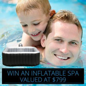 SpaChoice – Win a M Spa Direct Alpine Inflatable Square Spa valued at $799