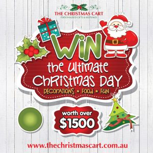 The Christmas Cart – Ultimate Christmas Day Giveaway – Win a prize package valued at $1,510