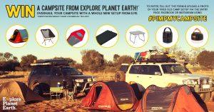 Wild Earth Australia – Win a Campsite from Explore Planet Earth