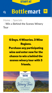 Accolade wines – Win a Behind The Scenes Winery Tour_7623063_3.docx © 2017 Gadens Lawyers 1 (prize valued at $8,000)