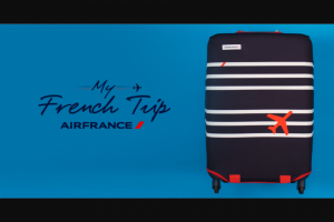 Air France – Win The Trip of Your Dreams With Air France (prize valued at $4,000)