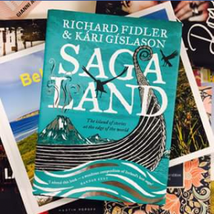 Angus & Robertson Bookworld – Win this Signed Copy of Saga Land From Richard Fidler and Kari Gislason