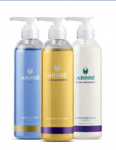 Arbré – Win One of Three Fleur Aromatics & Spa Body Packs (prize valued at $64)