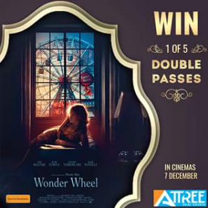 Attree Real Estate – Win 1 of 5 Double Passes to See Wonder Wheel