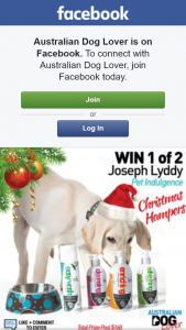 Australian Dog Lover – Win 1 of 2 Christmas Hampers With a Great Selection of Dog Grooming Products & Accessories (each Is Valued at $83.80).to Enter