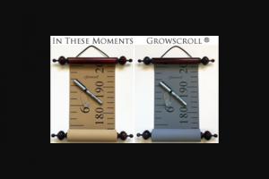 Australian Made – Win a Growscroll Growth Chart of Your Choice Valued at Up to $100 Thanks to In These Moments (prize valued at $100)
