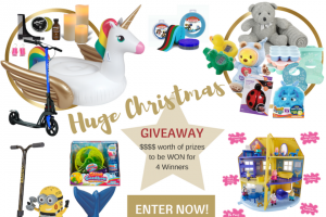 Beaches Kids – Win 1/4 Massive Christmas Prize Bundles (prize valued at $1,982)