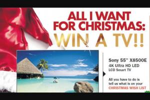 """Beaudesert Times-Jimboomba Times – Win a Sony 55"""" X8500e 4k Ultra Hd Led Lcd Smart Tv"""