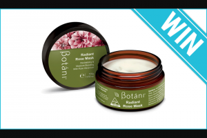 Beauty Heaven – Win 1 of 10 Botani Radiant Rose Masks