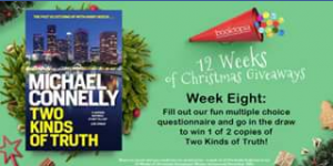 Booktopia – Win a Pack of All The Books Featured In Our 12 Weeks of Christmas Giveaways (winner Announced 20th December).