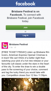 Brisbane Festival – Win a Double Pass to The Screening of Your Choice