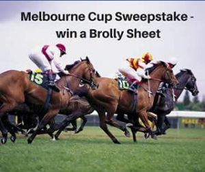 Brolly Sheets kids Melbourne Cup giveaway – Competition
