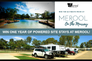 Caravanning With Kids – Win One Year of Powered Site Stays at Merool on The Murray