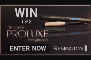 Channel 7 – Sunrise – Win a Remington Proluxe Hair Straightener